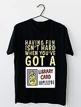 Arthur Library Card T shirt Hoodie for Men Women Unisex