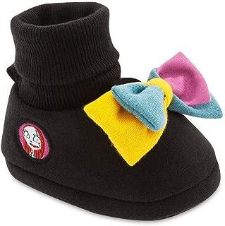 Disney Nightmare Before Christmas Sally Baby Costume Shoes - Girls Black