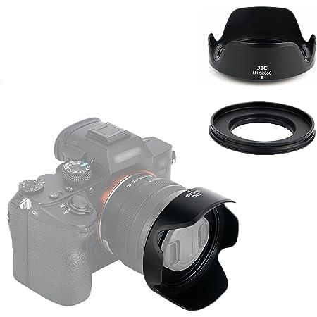 JJC 可逆式 レンズフード Fujifilm XC 15-45mm F3.5-5.6 OIS PZ と XF 18mm f/2 R 対応 花形 Fuji X-T200 X-T100 X-A10 X-A7 X-A5 X-A3 X-A2 X-T30 X-T20 X-T10 X-E4 X-E3 X-E2S X-E2 X-S10 X-H1 X-Pro3 X-Pro2 X-Pro1 X-T4 X-T3 X-T2 X-T1 レンズ 付ける時適用 富士 レンズ保護