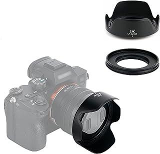 JJC 可逆式 レンズフード Fujifilm XC 15-45mm F3.5-5.6 OIS PZ と XF 18mm f/2 R 対応 花形 Fuji X-T200 X-T100 X-A10 X-A7 X-A5 X-A3 X-A2 X-T3...