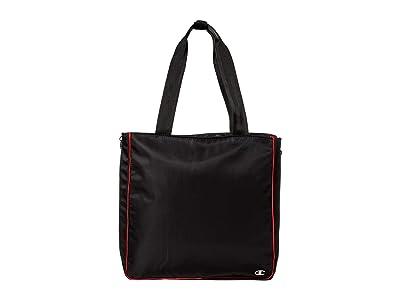 Champion LIFE Expander Tote (Black) Tote Handbags