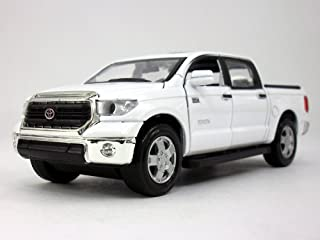 Toyota Tundra 1/36 Scale Diecast Metal Model by Kingstoy - WHITE