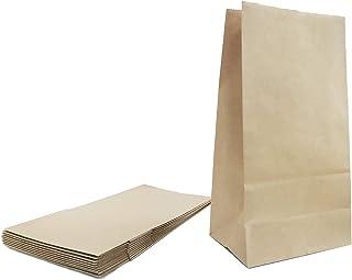 10 Pcs Sac Papier Kraft, Sacs alimentaires et pour sandwichs, Emballage alimentaire stockage résistant à l'huile cuisson, ...