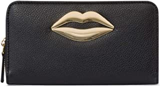 Tosca Blu Portafoglio Grande Lipstick, Unica, Nero