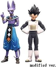 2 Psc Dragon Ball Figurine:Birusu And Vegeta Action Figure Boy Gift About 15-16 CM