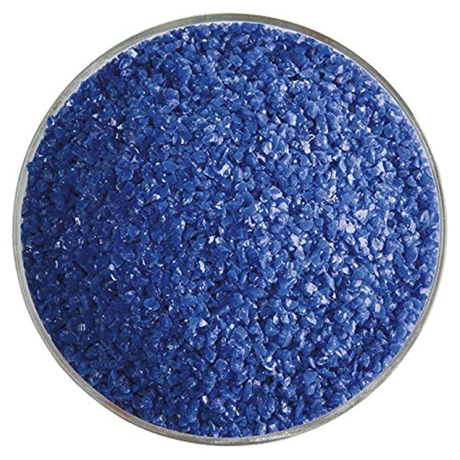Indigo Blue Opalescent Fusible Glass Medium Frit - 4oz - 90COE - Made From Bullseye Glass