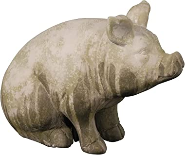A&B Home Wilbur Sitting Pig Accent