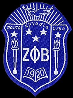 zeta phi beta shield patch