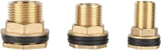 """Hose Connector Adapter Garden 1/2"""" 3/4"""" 1"""" Male Thread to 3/8"""" 1/2"""" 3/4"""" Female Thread Brass Connector Water Tank Fish Tan..."""
