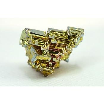 ビスマス鉱 人工結晶 縦約25mm横15mm 鉱物標本 ドイツ製 ビスマス