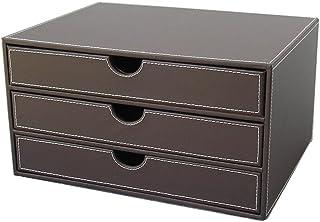 KINGFOM™ Module de classement 3 tiroirs A4