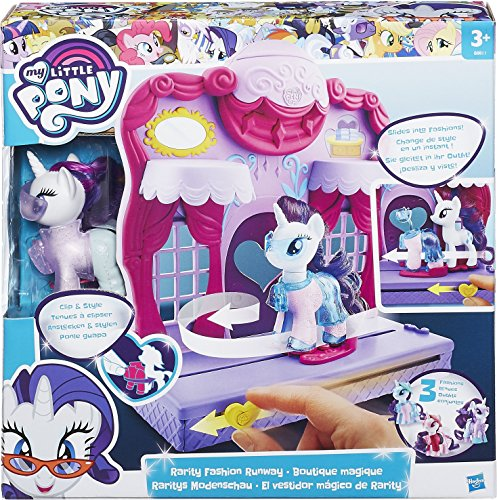 MY LITTLE PONY B8811EU40 Friendship is Magic Rarity Fashion Runway Playset