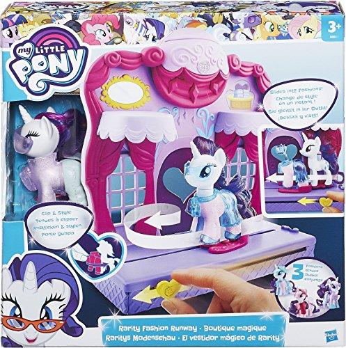 Hasbro My Little Pony B8811EU4 - Raritys Modenschau, Spielset