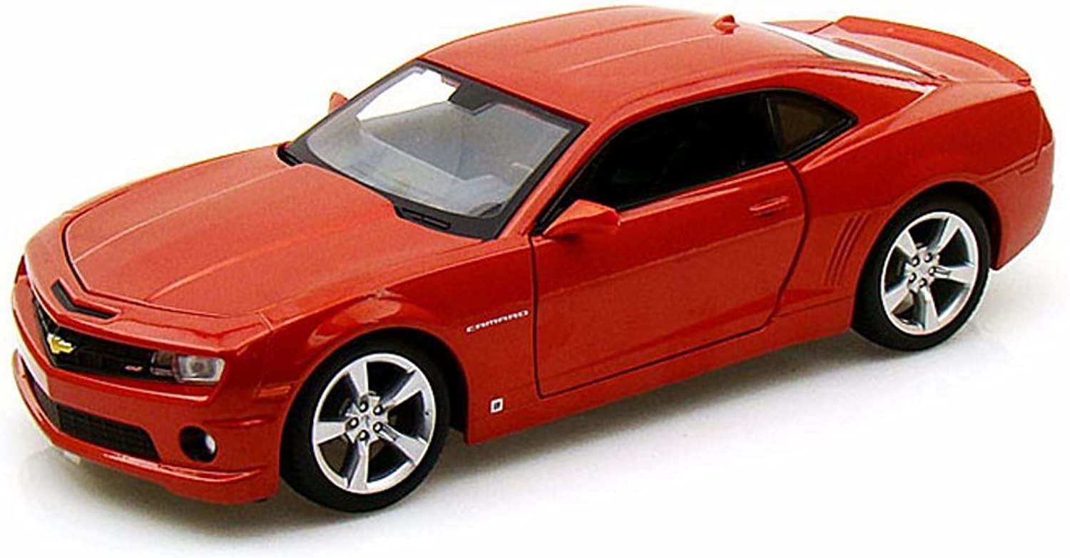 a45ce59440a6 Chevy Camaro SS RS, 31207 1 24 Scale Diecast Model Toy Car orange ...