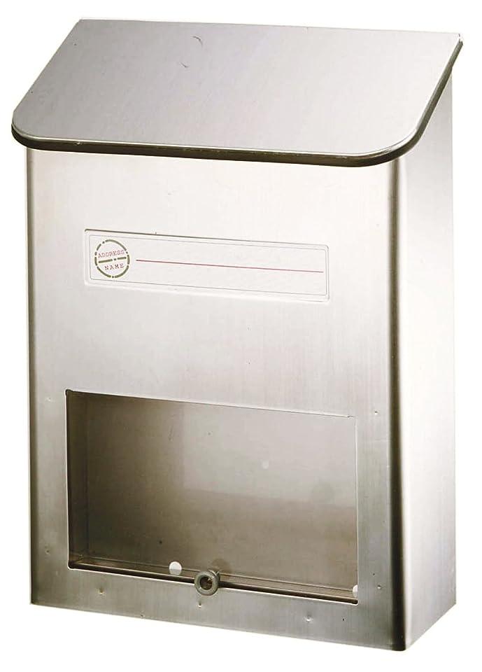 ハリウッド豆腐借りるグリーンライフ(GREEN LIFE) 郵便ポスト 縦型ステンレスポスト PS-20H さびにくい18-8ステンレス 奥行11.5×高さ34.0×幅25.0cm