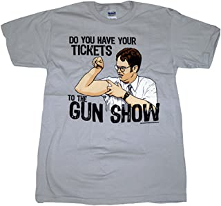 Do You Have Your Tickets The Gun Show Gray T-Shirt