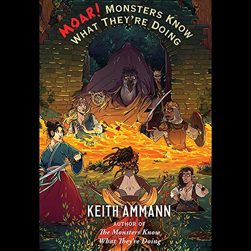 MOAR! Monsters Know What They're Doing cover art