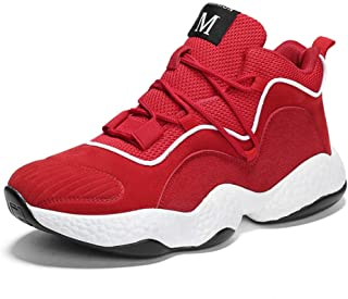 fa8891363025b LLWAD Chaussures De Basket-Ball Chaussures Hommes Hiver Coussin d'air  Casual dans Les