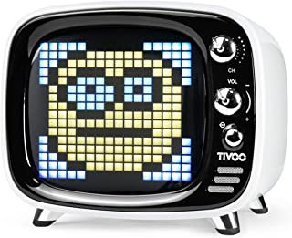 Divoom 840500101506 Pixel Art Speakers - White (Pack of 1)