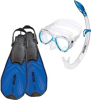 SEAC Zoom Set de Snorkeling, Unisex niños