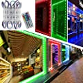 LED Storefront Lights, Pomelotree 40ft 80 Pieces Waterproof Decorative Light for Letter Advertising Signs, 4 Set 5050 SMD LED Light Module Storefront Window Strip Light(RGB Light)