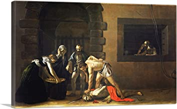 ARTCANVAS The Incredulity of St Thomas of 1601 Canvas Art Print by Caravaggio - 18