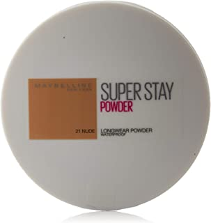 Maybelline New York Polvos Compactos Superstay 24 H Larga Duración Tono 21 Nude