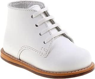 Baby Unisex Walking Shoes First Walker, White, 4 Medium US Infant