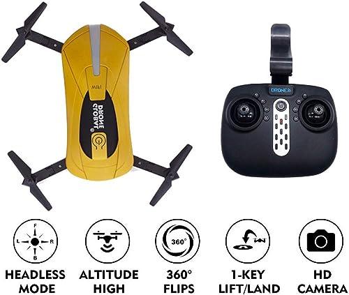 ERKEJI Drohnen fernsteuerung Quadcopter Lufüruck Feste H  Spielzeugflugzeug 720P Echtzeitübertragung Luftbild WiFi FPV