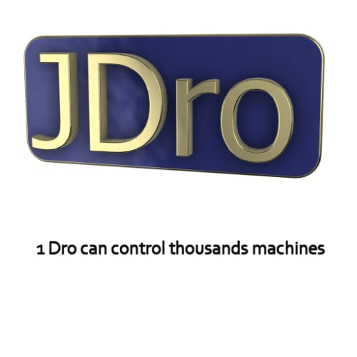 DRO Network Digital Read-Out for Lathe, Mill, Drill Press, Grinder machines