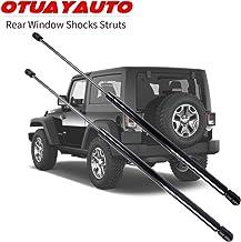 For 1997-2006 Jeep Wrangler Rear Window Shocks Struts, 55076310AD Back Glass Hatch Lift Support - 2Pcs