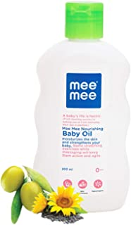 Mee Mee Baby Oil/Fruit Extracts With Baby Lotion, 200 ml