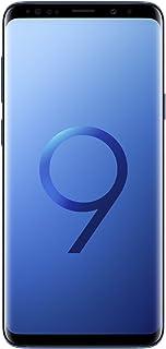 "Samsung Galaxy S9+ Plus (6.2"", Dual-SIM/Hybrid-SIM) 256GB SM-G965F Factory Unlocked 4G Smartphone (Coral Blue) - International Version"