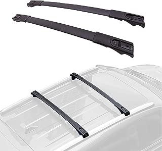 FengYu Cross Bars Roof Racks for Toyota RAV4, Luggage Rack Crossbars for 2013-2018 Toyota RAV4, Aluminum Roof Top Cross Bar Set with Locks for Roof Carrier Rack