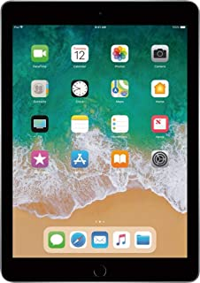 Apple iPad with WiFi + Cellular, 32GB, Space Gray (2017...