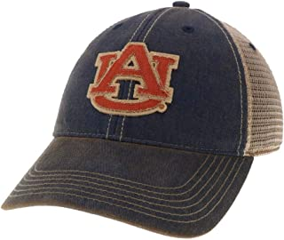 Legacy Athletics Auburn Tigers Navy OFA Mesh Back Trucker Cap - Primary Logo