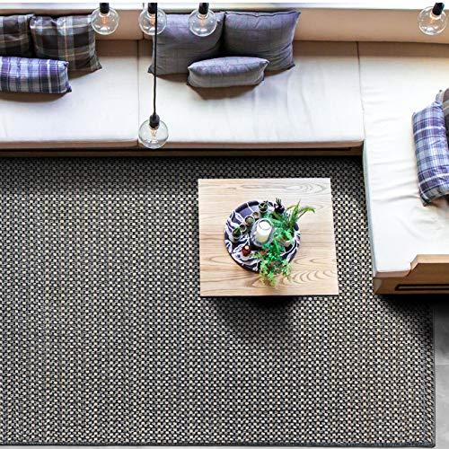 casa pura Tapis Extérieur Intérieur - Tissage à Plat | Tapis 200x290 cm Pour Terrasse, Balcon, Jardin | Antidérapant Résistant Intempéries | Modèle Courtyard