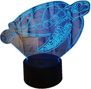 YSNJL Colorful Touch 3D LED Vision Light USB Gift 14D Small Table Lamp
