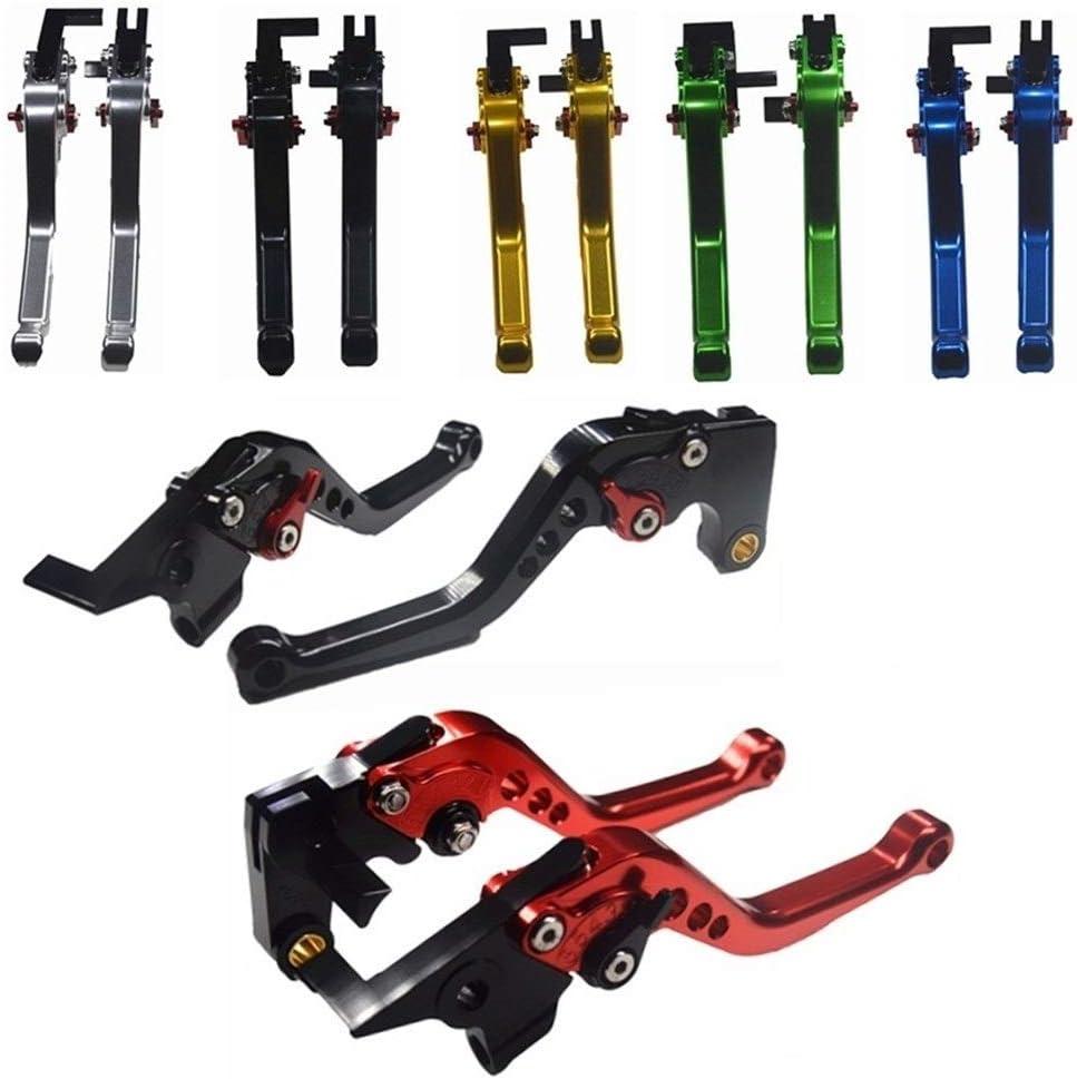 Color : Long Black Motorradhebel kurz Short /& ampLong Fit for Suzuki SV650 S SV650S 1999-2003 2004 2005 2006 2007 2008 2009 SV 650 2011 Motorrad CNC-Bremsen-Kupplungs-Hebel Kupplungshebel