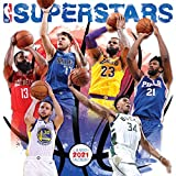 2021 NBA Superstars Wall Calendar