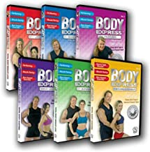 Tony Little - Body Express, Body Shaping Series: 6 Volume Workout DVD Set