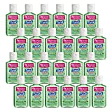 PURELL Advanced Hand Sanitizer Soothing Gel, Fresh scent, with Aloe and Vitamin E- 2 fl oz Flip Cap Bottle (Pack of 24) - 9682-24-CMR