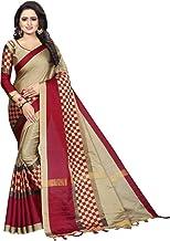 pawaly Women's Banarasi Saree With Un-stitched Blouse Piece