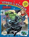 Avengers. Storie in sticker. Ediz. a colori...