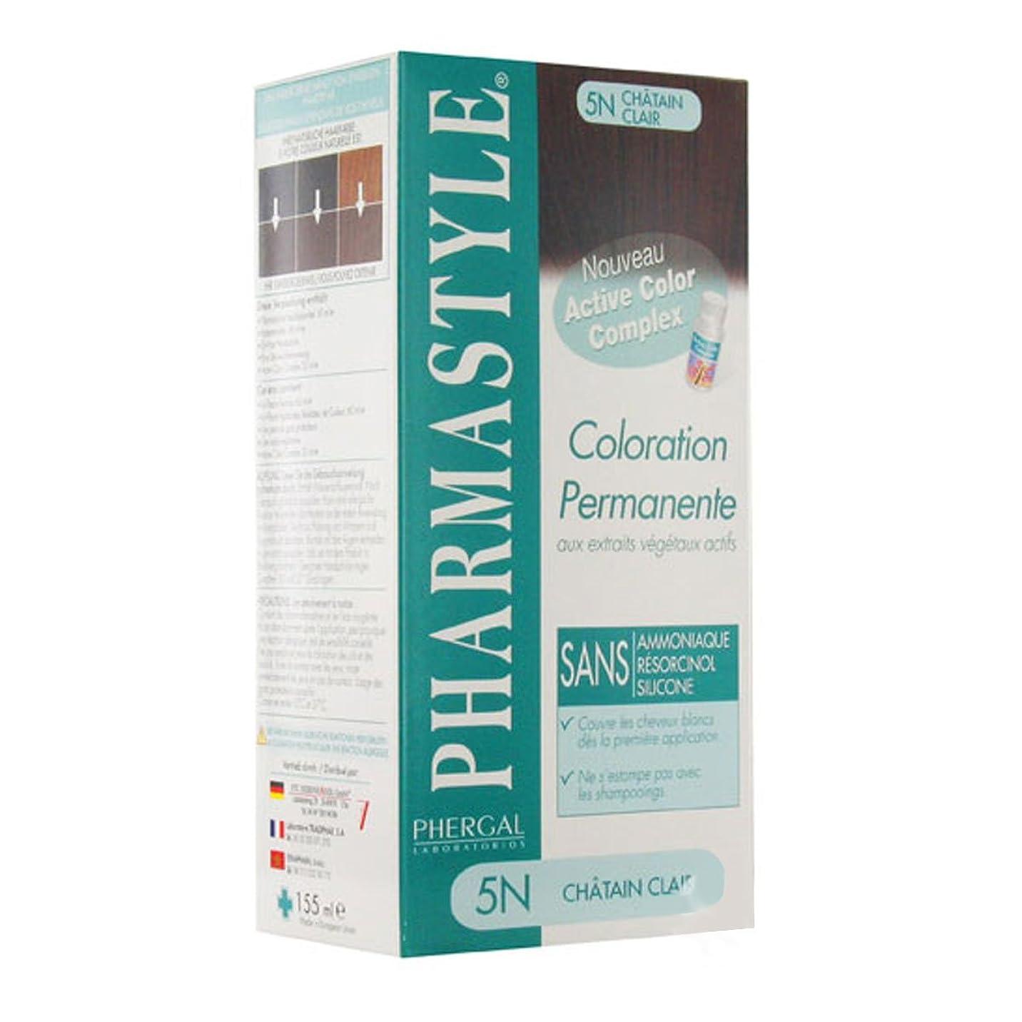 ために昆虫神経障害Pharmastyle Hair Colour 5n Castanho Claro [並行輸入品]