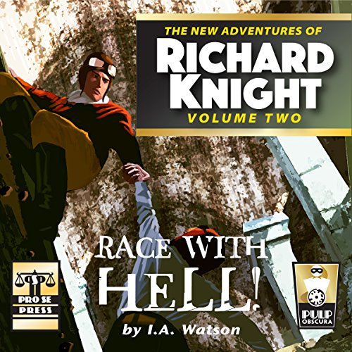 Race with Hell! audiobook cover art