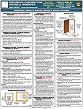 Residential Construction Doors & Windows Quick-Card Based on 2018 IRC