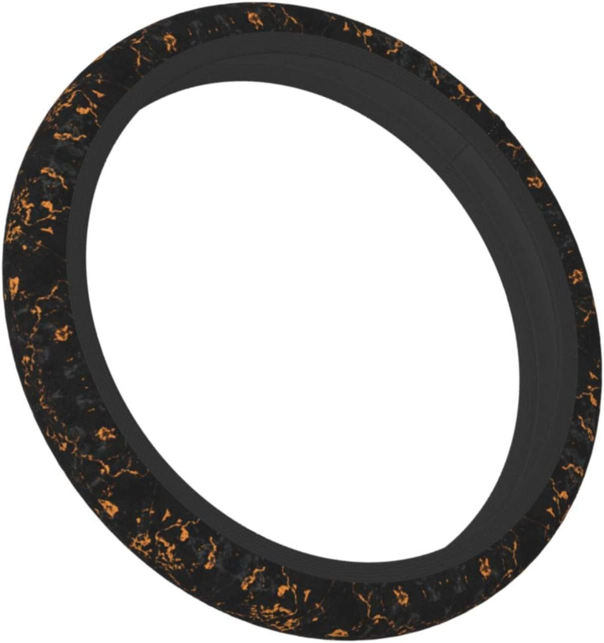 All stores are sold Deaowangluo Black Marble Steering Wheel Anti Cover Women for Jacksonville Mall Sl