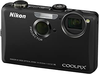 Nikon Coolpix S1100PJ Digitalkamera (integrierter LED Projektor, 14 Megapixel, 5 fach opt. Zoom, 7,5 cm (3 Zoll) Display, HD Videofunktion) schwarz