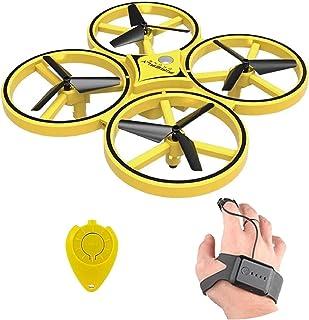 Smart Bracelet Gravity Sensing Aircraft Mini Drone High Quality (Color : Yellow)